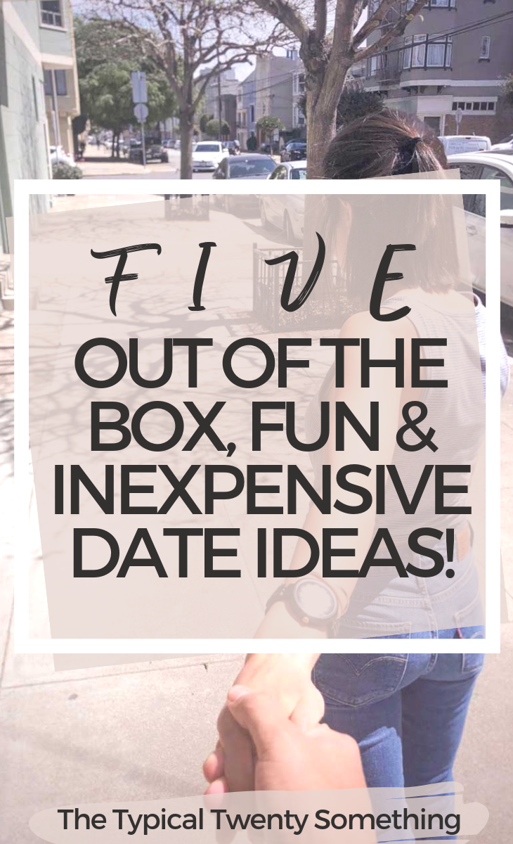 5 quirky and fun date night ideas that are out of the box, fun and for adults! I love these ideas whether or not you are a new couple or have been dating forever!
