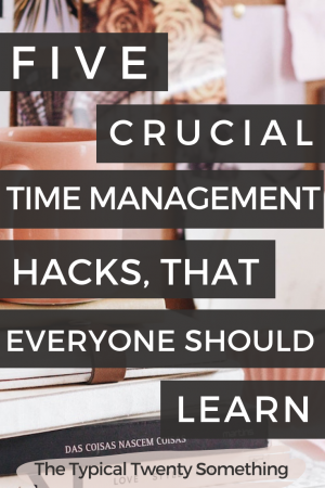 Time management has never been my strong suit - until I discovered these five hacks. From blogging to working my 9-5, I always thought successful people had to work 24/7 - yet, that's not the case! From batching, to learning how to control your time on your phone, to work, here are the apps and tips you need to help you have better time management!