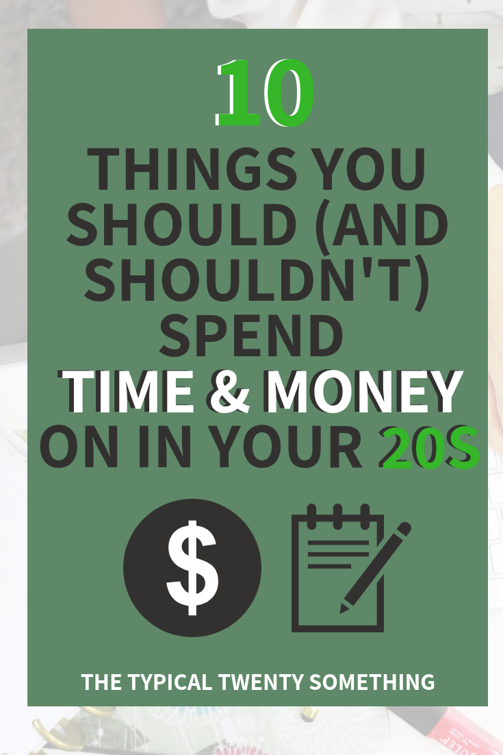 Investing in your 20s is one of the best things you can do for yourself! I not only mean financial investments, but also life investments, like your mental health and self care! here is my list of what you should (an shouldn't) invest in in your 20s!