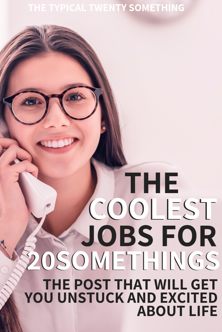 jobs for 20 somethings