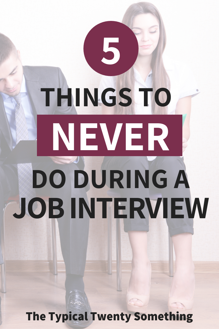Job interviews can be stressful! Here are the five rules of thumb that I never do during a job interview - and how to crush your next job interview! Job Interview | Interview Questions | How To Interview | Interview Tips | Interview Weaknesses #jobinterview #careeradvice #jobinterviewtips #jobinterviewadvice