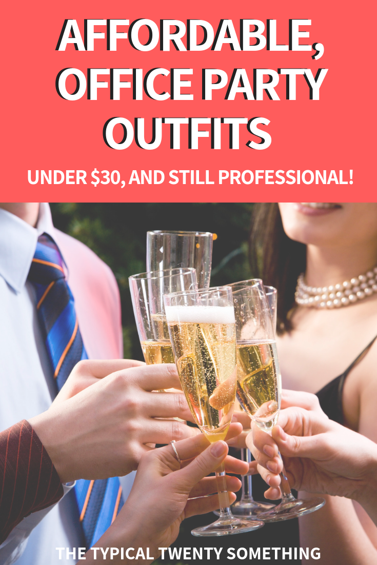 Office holiday party outfit ideas under $30, so you can still look professional AND cute!