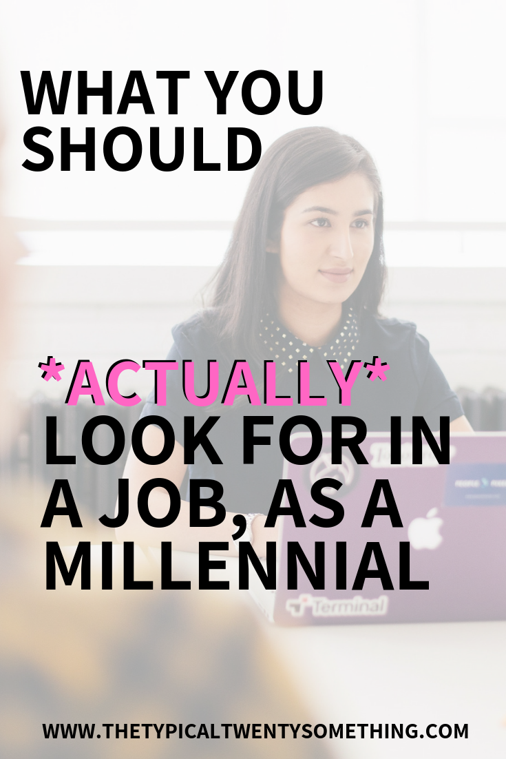 Are you curious what millennials want in the workplace? Here are exactly what millennials want at work! millennials, career, career advice, job, work, boss, bossbabe, millennials want at work,Looking to get hired? These 8 tips tell what millennials actually want out of their career, their job and their work. If you are getting hired soon, try looking for these 8 tips in your new job. Getting hired, new job, career, career advice, #career #gettinghired #whatmillennialswantfromwork #millennialsworking #bossbabe #working