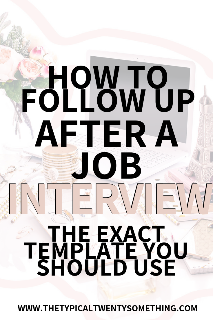 The best secret to interviewing - how to follow up after a job interview, how to interview well