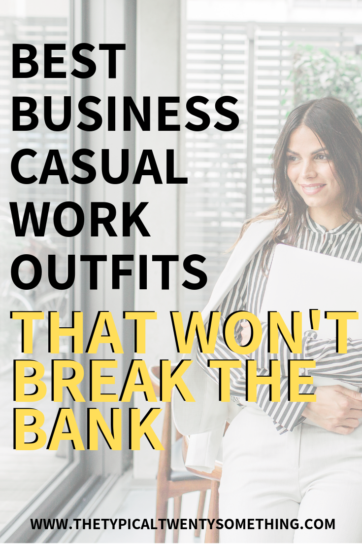 Best business casual outfits for work