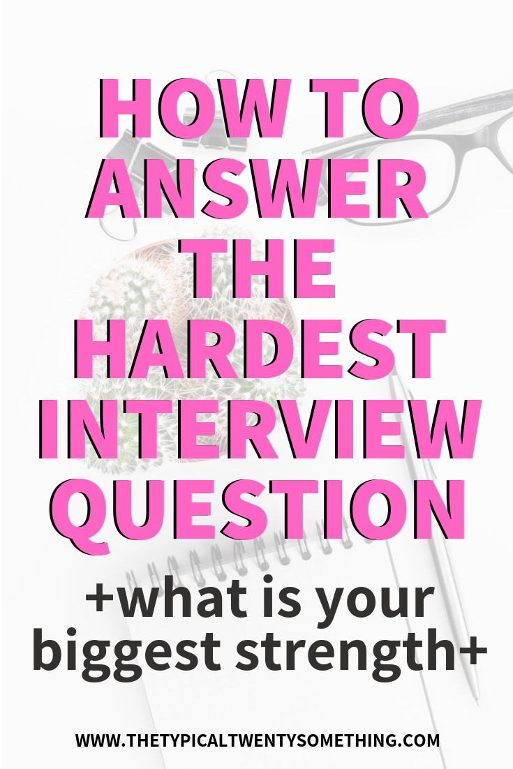 "How To Answer, ""What Is Your Biggest Strength"" During A Job Interview!"