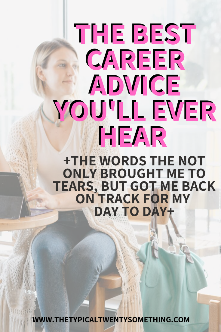 The best career advice you'll ever read and avoid burn out