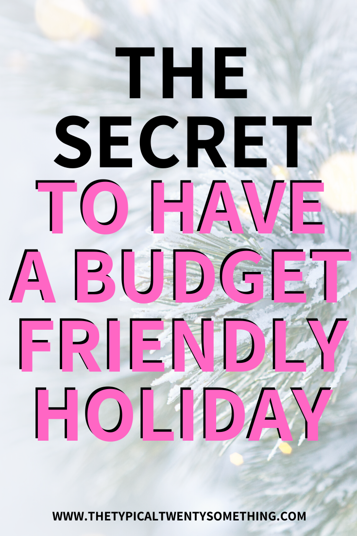 Need help with budgeting and saving money this holiday season? Use this Christmas and Holiday Tips to shop on a budget, that actually work! Figuring out how to save money over the holidays isn't easy, and this post will give you 10 ways to budget your personal finances this christmas! #holidayshopping #christmasbudget